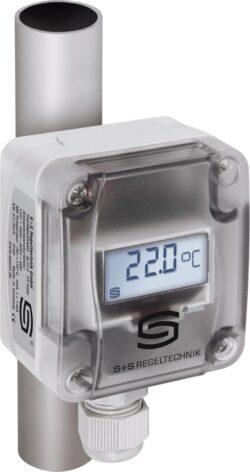 Накладной датчик температуры ALTM-1 с дисплеем