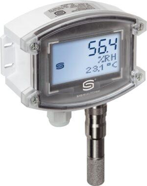 Измерительный датчик влажности и температуры AFTF-25-Display