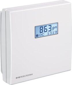 Датчик температуры влажности СО2 и ЛОС с интерфейсом Modbus