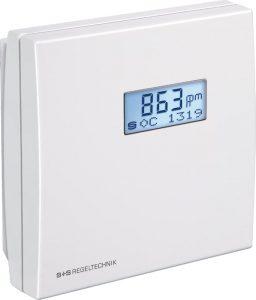 Датчик ЛОС и CO2 с дисплеем