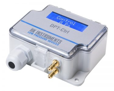 ПИД-контроллер с трансмиттером перепада давления или расхода воздуха