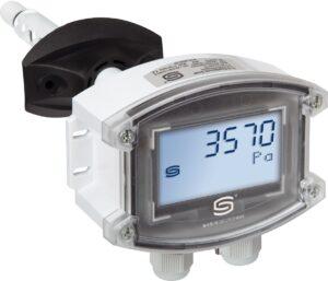 Канальный датчик давления температуры и влажности PREM-814x с дисплеем