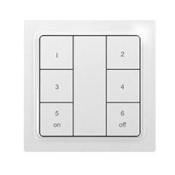 Радио-выключатель с 6 кнопками и батарейкой F6T55B-Keypad
