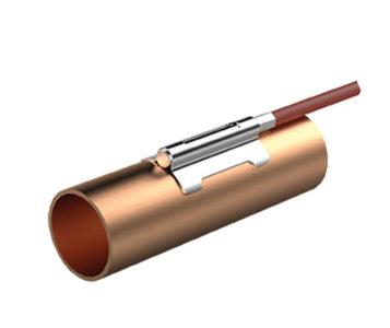 Кабельный датчик температуры с накладной гильзой PTE-SF