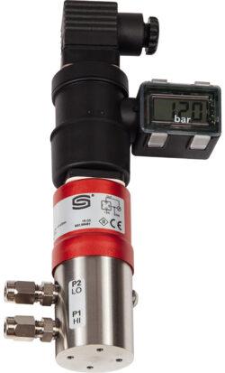 Датчик перепада давления жидкостей и газов SHD-692 с дисплеем