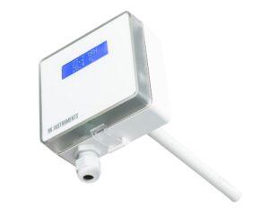 Канальный датчик влажности с сенсором температуры RHT-Duct