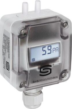Датчик перепада давления и объемного расхода с дисплеем PREM-211x