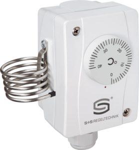 Механический терморегулятор со спиральным капилляром TR-040-060