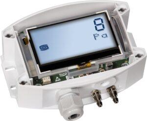 Датчик перепада низких давлений PREM-7112-Display